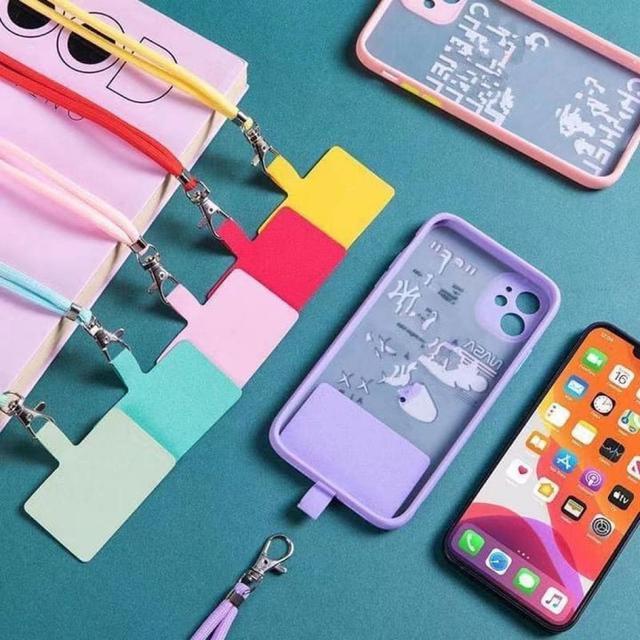 #預購N091 - 防丟手機殼掛繩