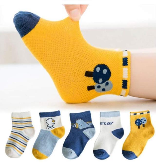 【現貨】舒適兒童襪(圖案)