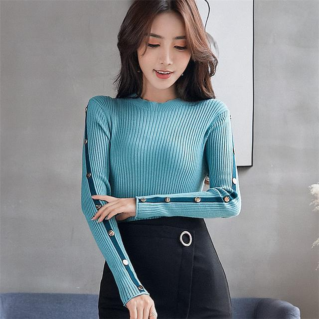 11 針織衫長袖時尚毛衣