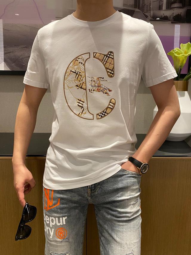 原單BBR、2021ss春夏新款、男士短袖T恤