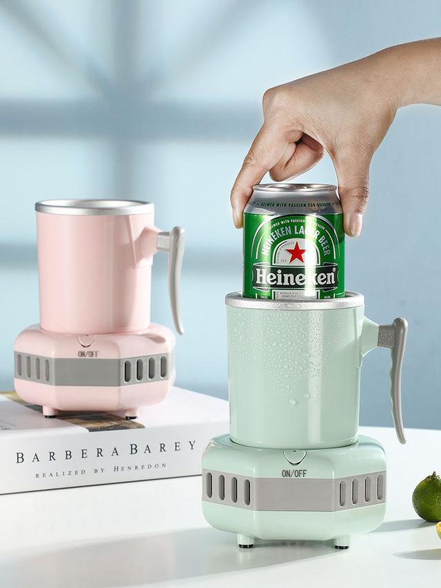 快速製冷杯啤酒飲料降溫杯車載戶外宿舍公室便攜冰鎮機迷你製冷機