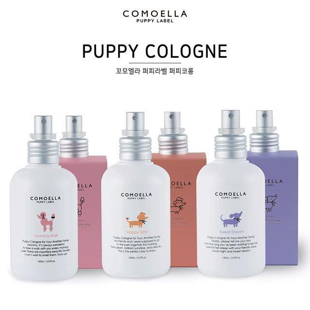 韓國 COMOELLA PUPPY COLOGNE 澎澎軟軟寵物香氛 150ml 三款