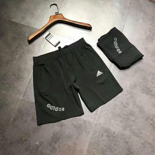 Adidas 刺繡Logo速幹短褲