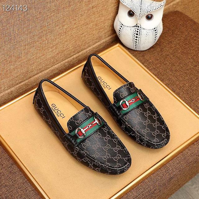 頂級原單 🕷🕷【GUCCI】古奇 新款男士時尚休閒套腳鞋