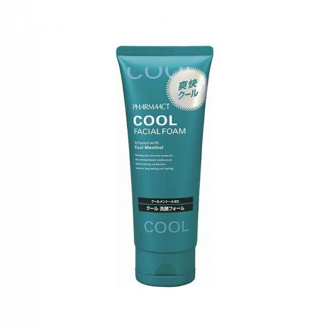 日本 熊野油脂 Pharmaact勁涼洗面乳 130g 清涼感 薄荷香氣