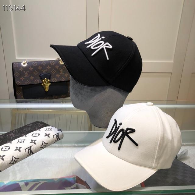 Dior(迪奧)新款帽子原單棒球帽鴨舌帽