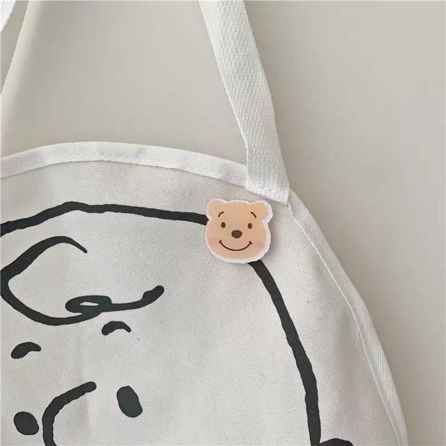 韓國風格 卡通壓克力材質胸針 史黛拉達菲熊 配飾