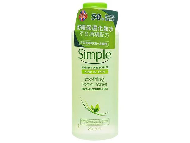 Simple 清妍 洋甘菊舒緩保濕化妝水