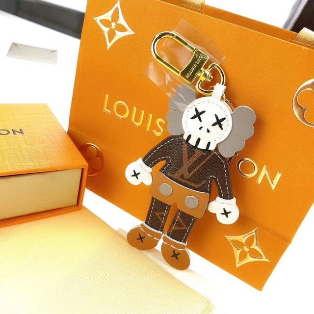 盧芝麻街公仔潮牌高檔鑰匙扣掛件歐美潮流個性包包配飾男女裝飾品編號35