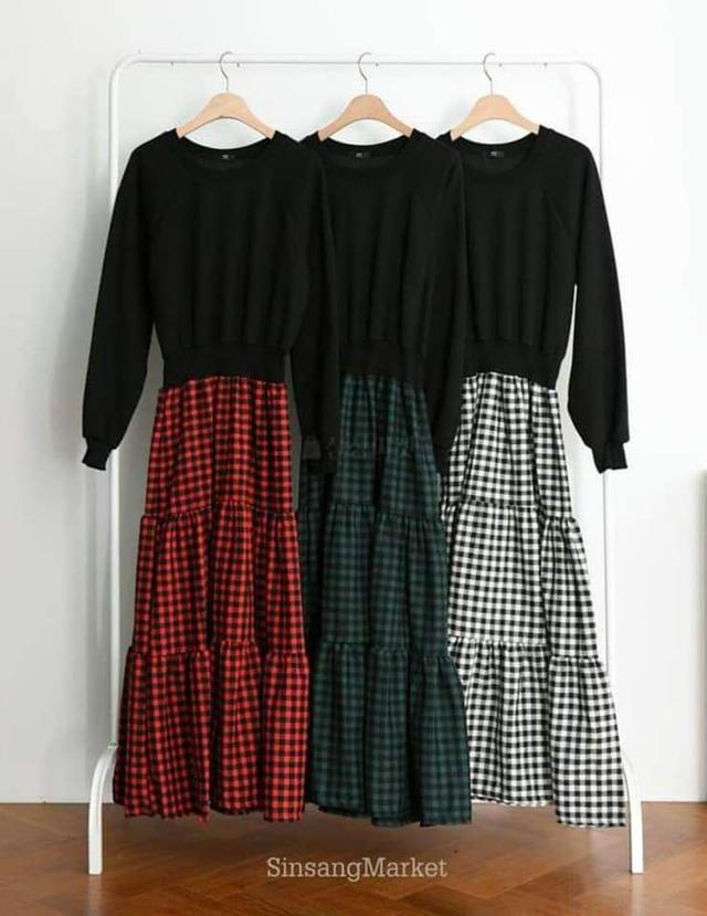【預購🇰🇷韓國】荷蘭風格紋洋裝