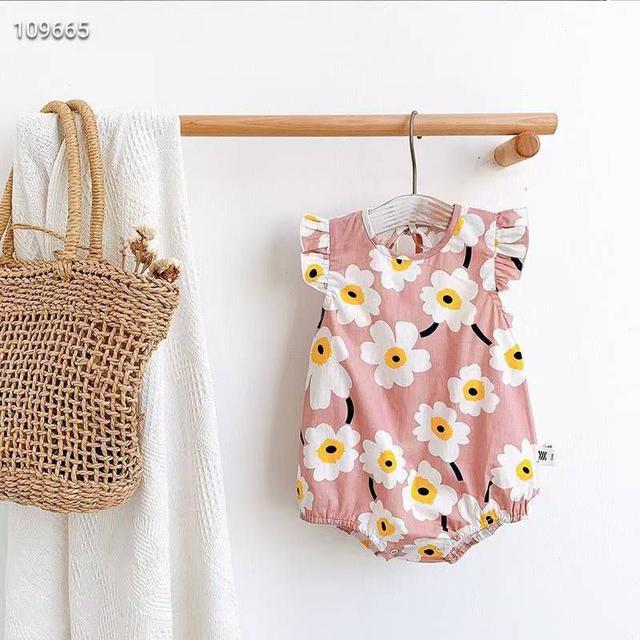『預購』韓版花朵露背包屁衣