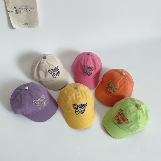 夏季兒童棒球帽