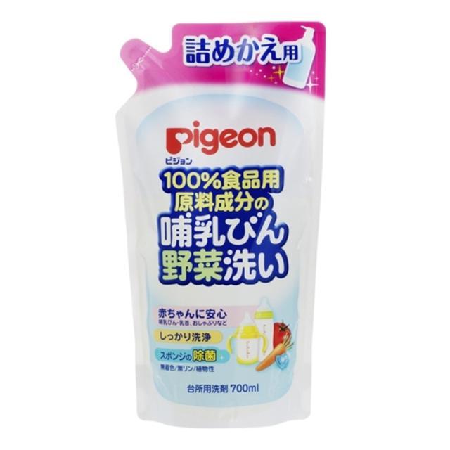 Pigeon 植物性奶瓶蔬果清洗液 700ml 補充包 代購