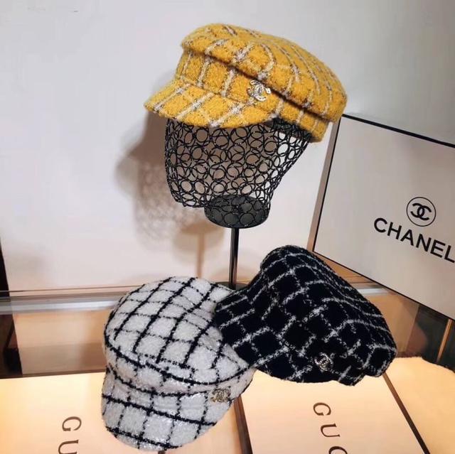 CHANEL 2019新款軍帽,細節做工都很精緻 男女款‼️