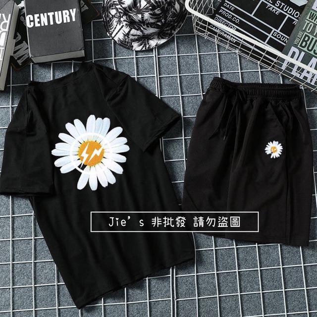 預購-GD明星同款小雛菊男套裝