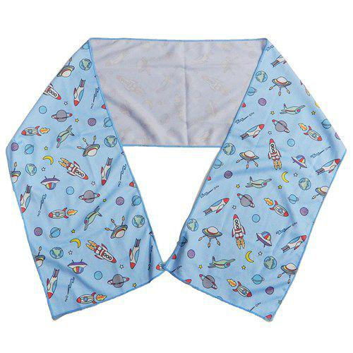 宇宙 涼感巾 毛巾