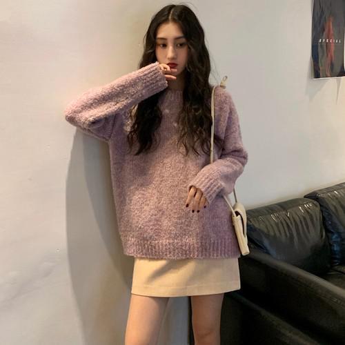 B 12/10 加厚珠蘭針織毛衣(2色)