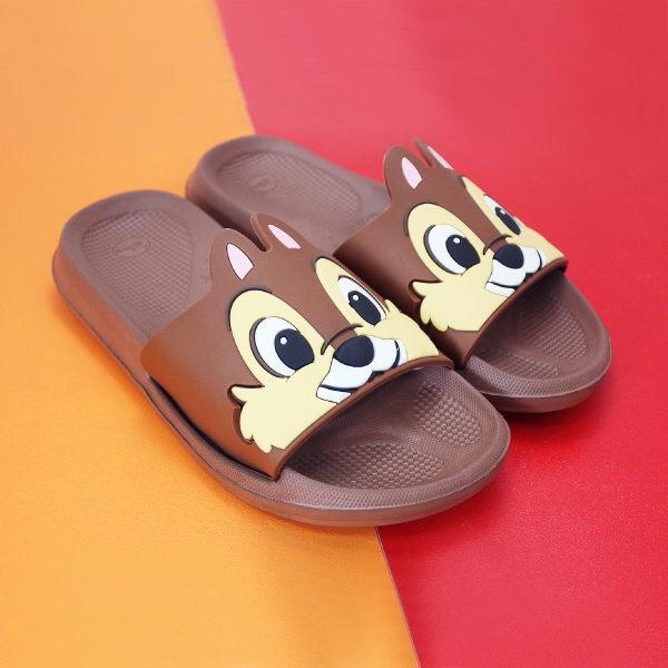 正版迪士尼 奇奇造型室內拖鞋
