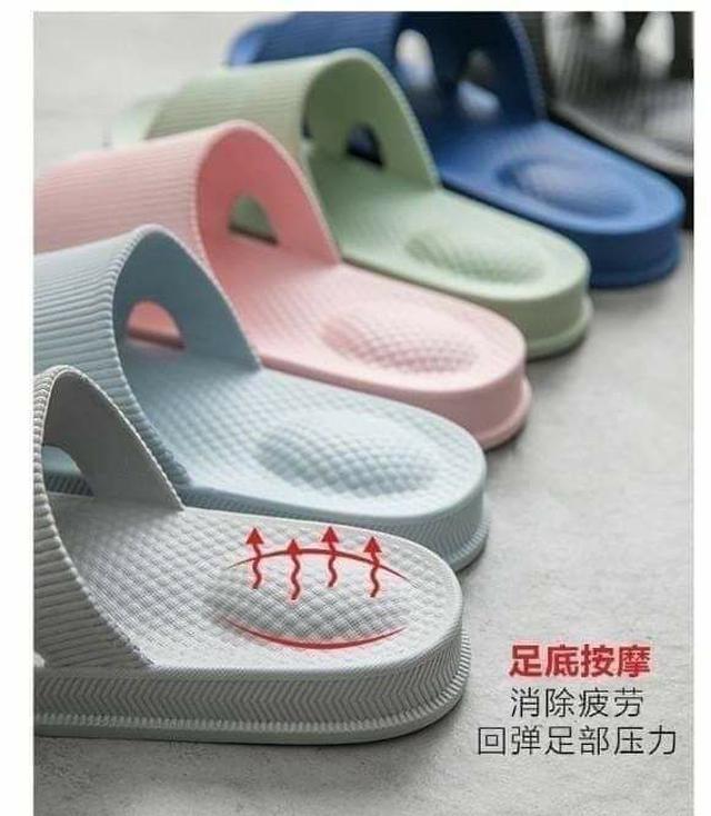 日式防水防滑氣墊加厚拖鞋