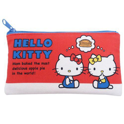 凱蒂貓 HELLOKITTY 筆袋 鉛筆盒 化妝包