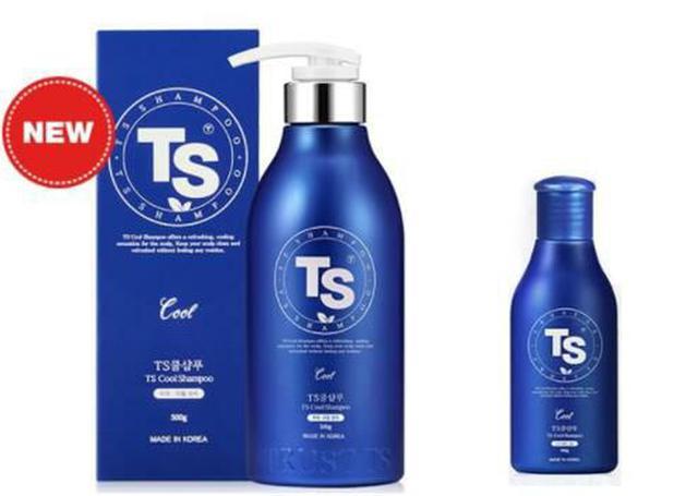 韓國 TS 專業草本涼感洗髮精 100g / 500g