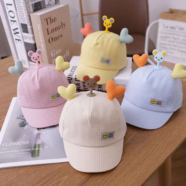 🔥廠商現貨🔥2021新款 童帽 兒童棒球帽 3-12月可戴