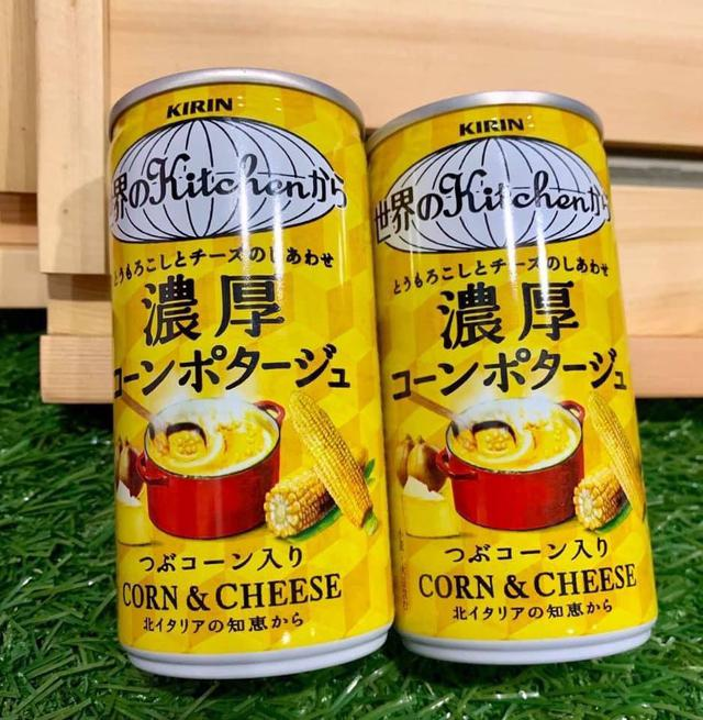 KIRIN 奶油玉米濃湯即時瓶/185g