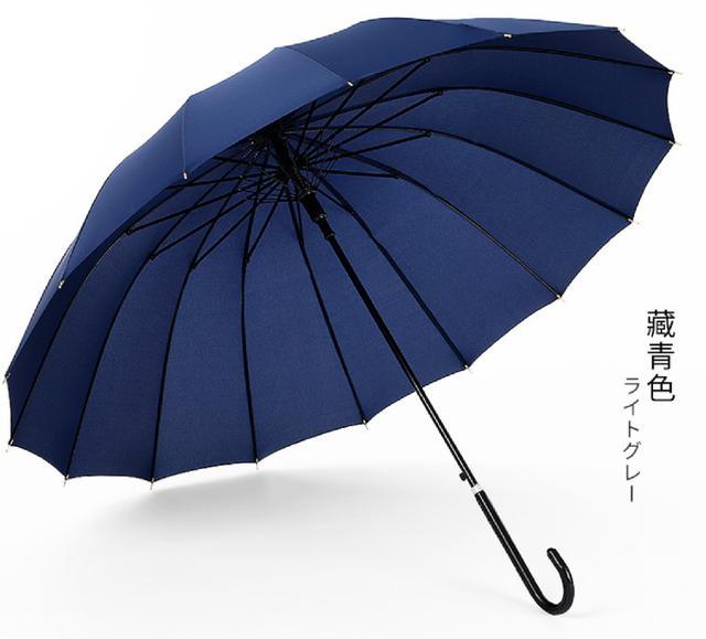 (2入)長柄自動雨傘