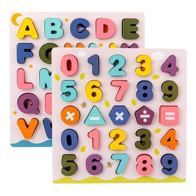 『預購』字母數字配對認知板