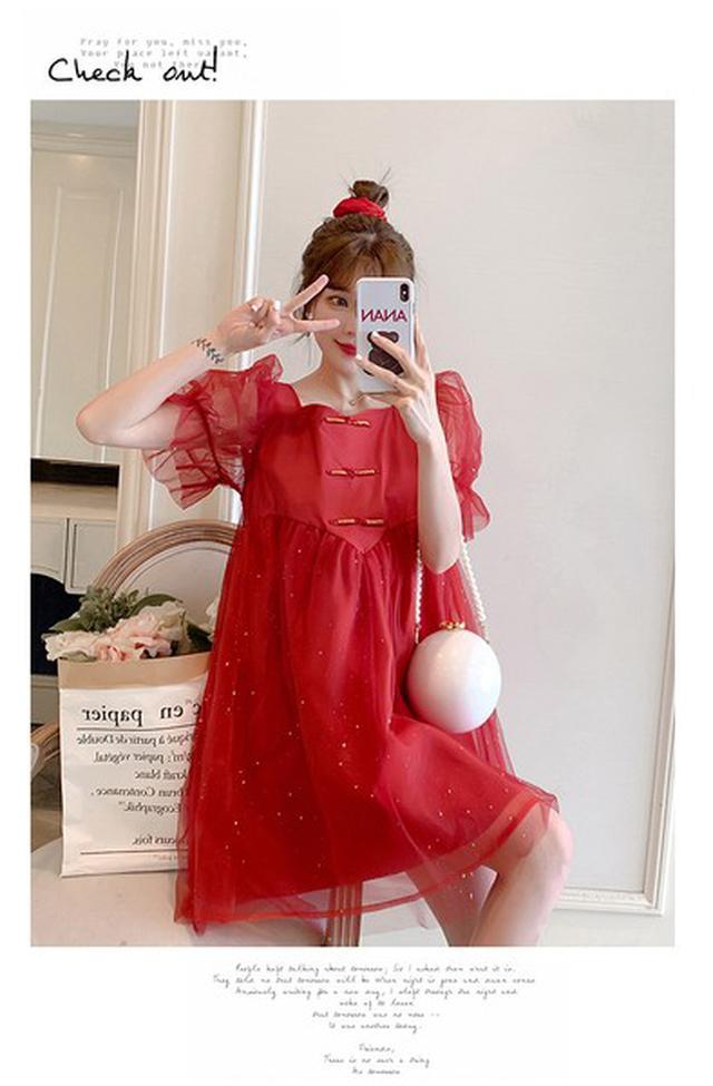 新款孕婦連衣裙