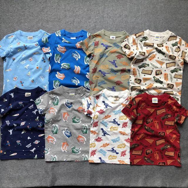 日本外銷滿印棉恤