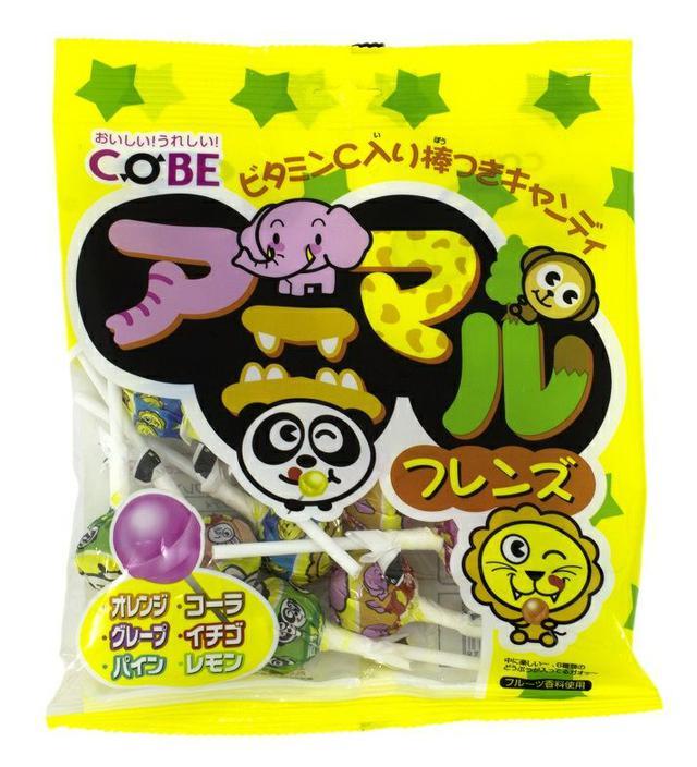 COBE水果風味 棒棒糖150g