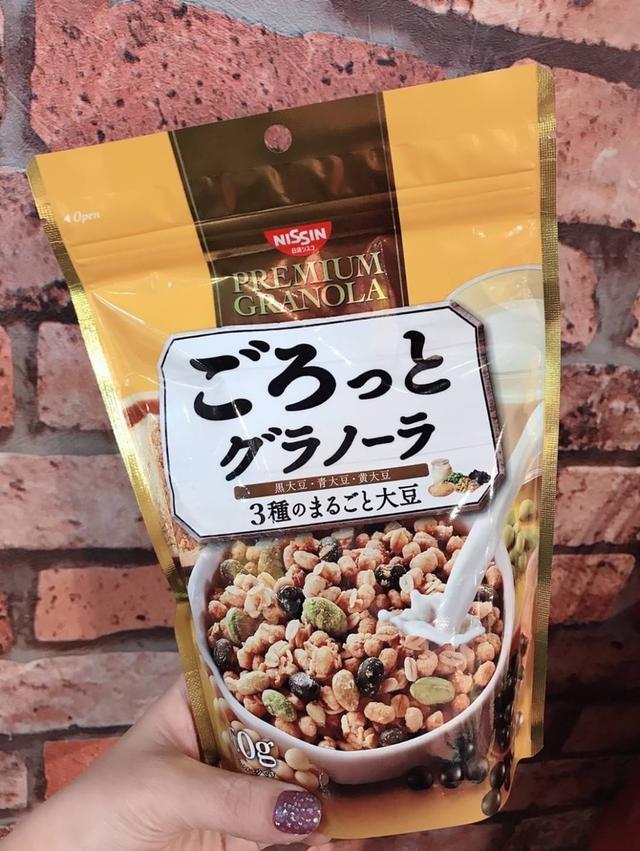 日本日清早餐麥片 充實大豆 160g