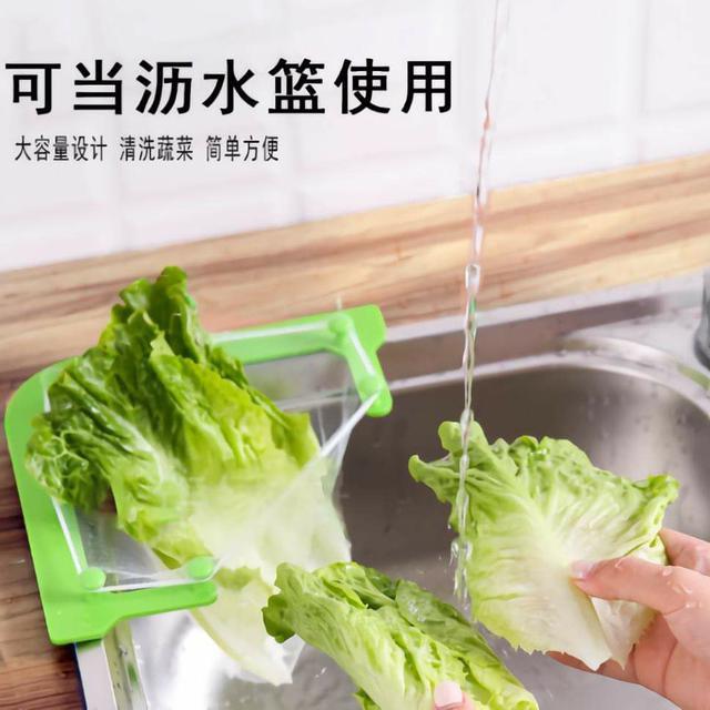 (預購s+) A061-水槽剩菜掛網三角架