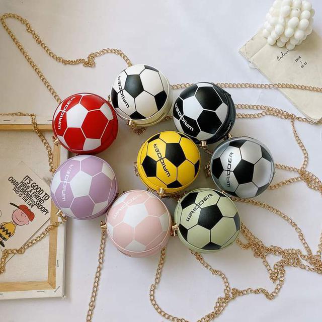 【預購】兒童足球鏈條包