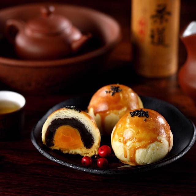 🌺如意饌🌺經典手作烏豆沙蛋黃酥(12入)