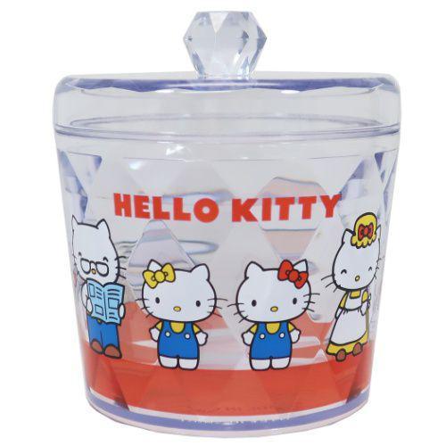 凱蒂貓 HELLOKITTY 壓克力 儲物罐