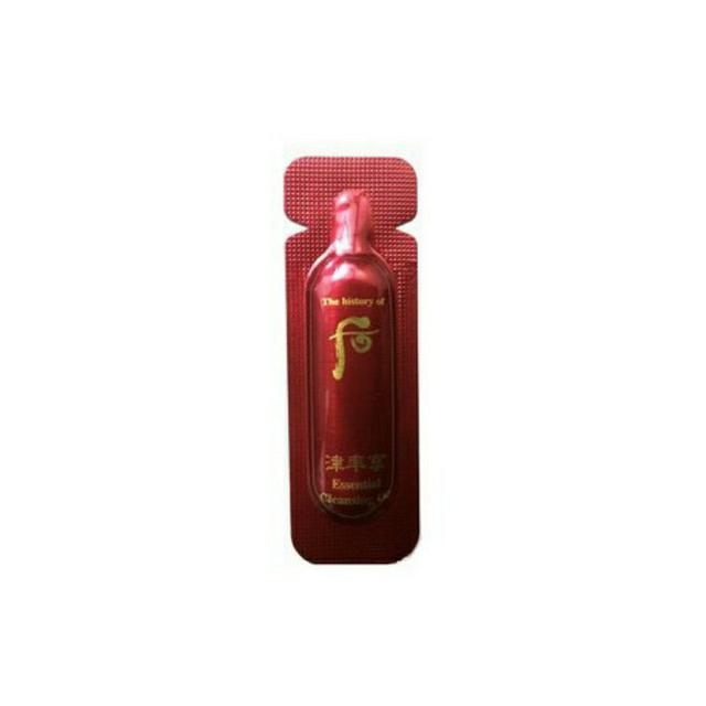 韓國 WHOO 后 津率享 紅山蔘安瓶精油 1ml