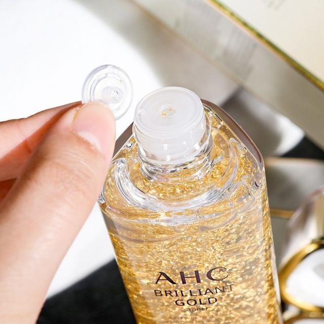 韓國 AHC 黃金尊貴保濕水140ML~煥顏肌活露 爽膚水/補水保濕滋養-IF