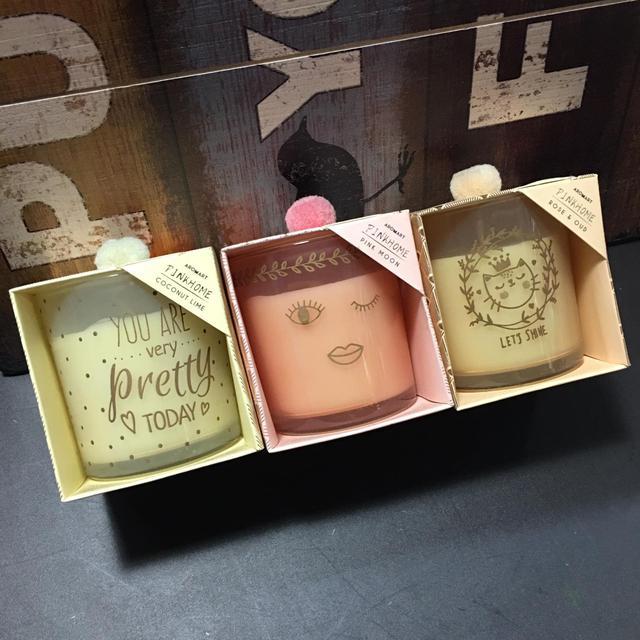 「超可愛香氛蠟燭」  ☑️三款造型.香味