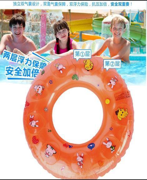 兒童泳圈3-6歲加厚安全充氣水上浮圈LSJ19072303