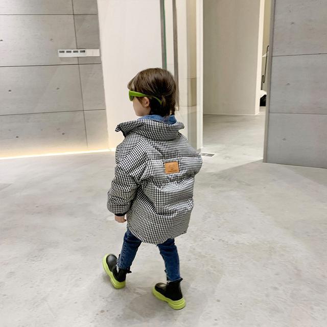 兒童羽絨服女童2021新款韓版寶寶中小童裝短款加厚冬裝外套