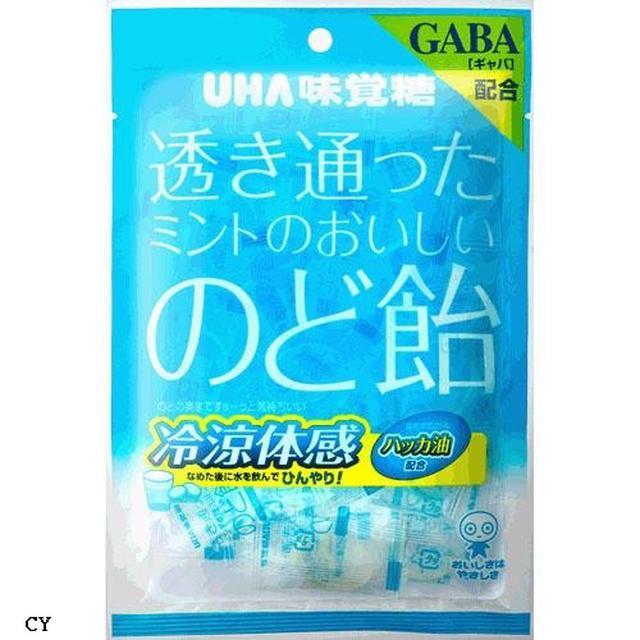 UHA味覺糖 清涼薄荷潤喉糖x6