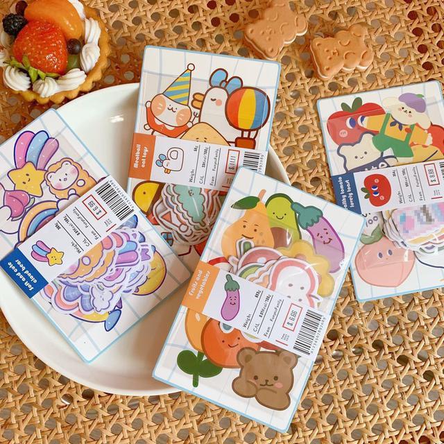 ✨ins韓系可愛卡通手帳貼✨