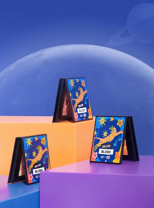 【代購】橘朵色彩實驗室銀河奇異夢境混色腮紅#01#02#03