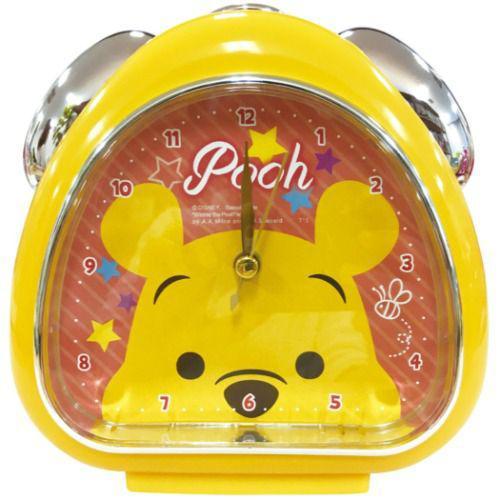 迪士尼 小熊維尼 飯糰造型 鬧鐘 時鐘