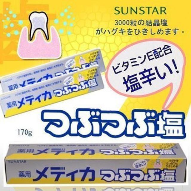 廠現 日本 三詩達 藥用鹽牙膏 微粒晶鹽(170g)