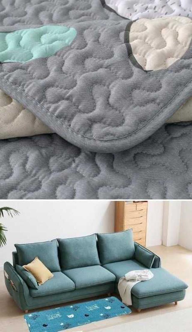 透氣防汙止滑沙發墊(款式隨機)