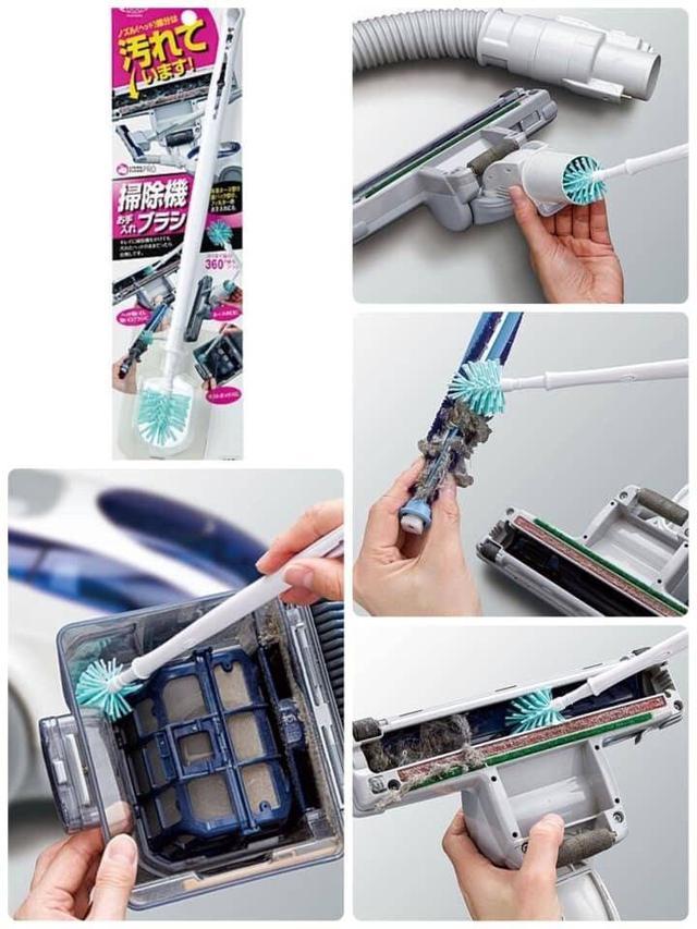 日本吸塵器清潔刷(預購)