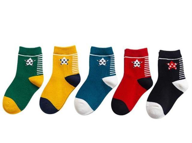 【預購】男童襪子組(5入)